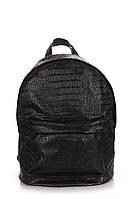 Рюкзак Poolparty Croco (backpack-croco-black)