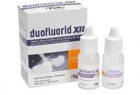 Материал для глубокого фторирования зубов Duofluorid XII