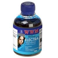 Чорнило WWM ELECTRA 200г для Epson Light Cyan Водорозчинні (EU/LC) з розширеною сумісністю