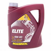 Моторное масло MANNOL ELITE SAE 5W-40 (4L)