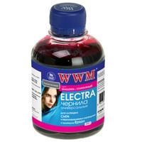 Чорнило WWM ELECTRA для Epson Magenta 200г Водорозчинні (EU/M) з розширеною сумісністю