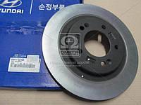Диск тормозной задний (производитель Mobis) 584113Z100