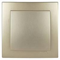 Выключатель одноклавишный Nilson Touran золото (24151001)