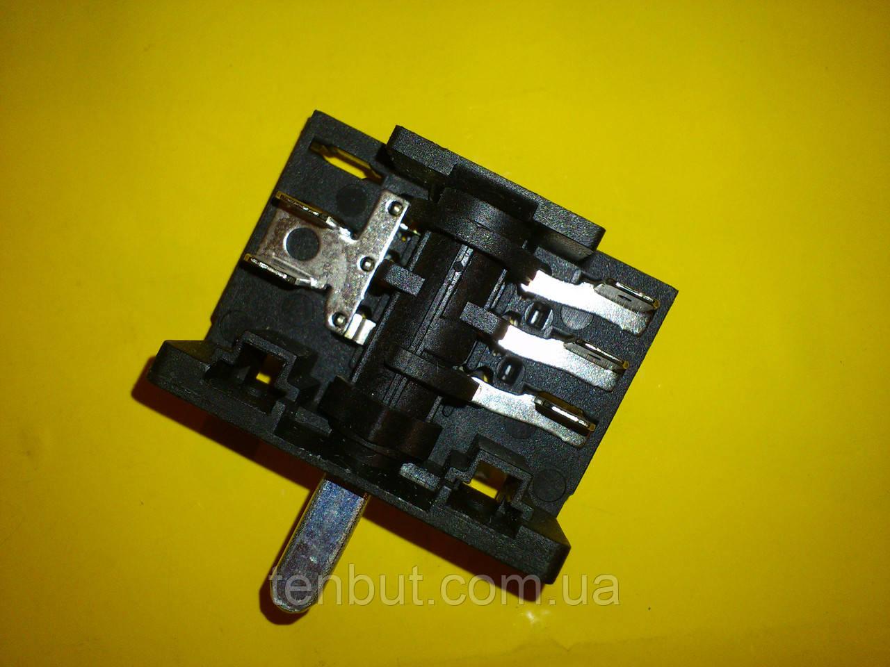Перемикач для електродуховок АС 301 ( В ) клеми вгору виробництво Туреччина