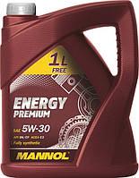 Моторное масло MANNOL Energy Premium 5W-30 VW 505.01 (5L)