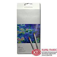Карандаши Marсo 12 цв Raffine, 7100-12СВ