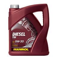 Моторное масло MANNOL Diesel TDI SAE 5W-30 VW 505.01 (5L)