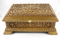 Мощевик (ковчег) дубовый 450х310х180