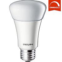 Светодиодная LED лампа Philips MAS LEDBulb D 10-60W E27 827 A60, диммируемая