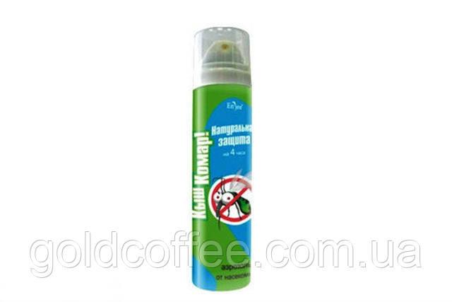 "Аэрозоль-репеллент для взрослых ""Кыш Комар!"", защита 4 часа. 60 гр"