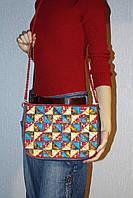Женская сумочка в технике печворк