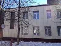 Фасад Харьков 850кв.м. Сдано в феврале 2016г.