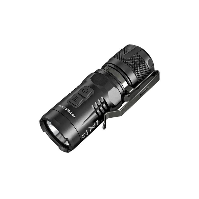 Карманный фонарик Nitecore EC11 (Сree XM-L2 U2, 900 люмен, 11 режимов, 1хCR123A/IMR18350)