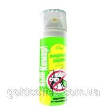 """Аерозоль-репелент від комарів """"Кыш Комар!""""для дітей, захист 3 години. 40 р."""