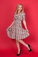 Платье солнце-клёш женственное и романтичное