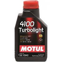 Масло моторне MOTUL 4100 Turbolight 10W-40 1л