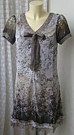 Платье женское летнее легкое элегантное мини бренд Street One р.40 5710