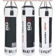 Боксерский мешок RDX LEATHER BG 1.2 м, 40-50 кг