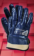Защитные перчатки, покрытые нитрилом, с жестким манжетом RECONITFULL, фото 1