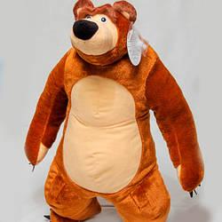 """Мягкая игрушка Медвель из м/ф """"Маша и Медведь"""" 60 см"""