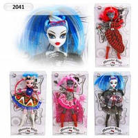 "Кукла ""Monster High"" 2041 на шарнирах 4 вида KHT"
