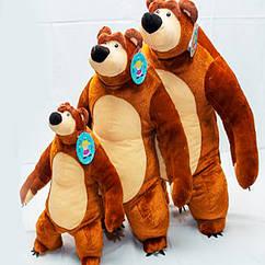 Мягкая игрушка мишка из мультфильма Маша и медведь 40 см