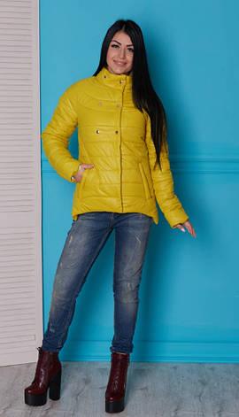 Молодежная куртка из плащевки, фото 2