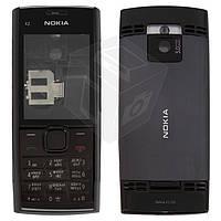 Корпус для Nokia X2-00 с клавиатурой, оригинал, черный