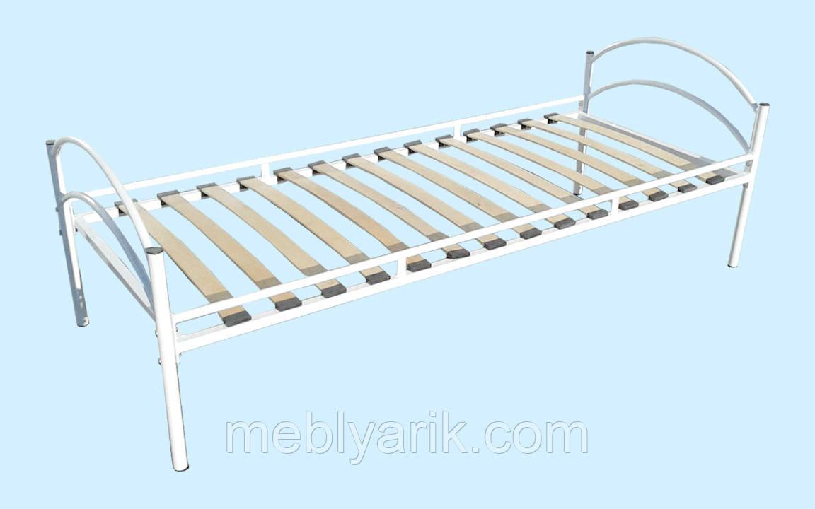 Кровать 1-спальная металлическая (под ортопедический матрас) 2000х800