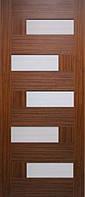 Двери межкомнатные ТМ Омис ламинированные серия 5-й элемент Домино