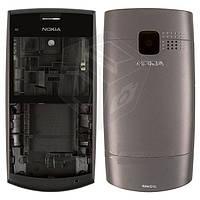 Корпус для Nokia X2-01 с клавиатурой, черный, оригинал