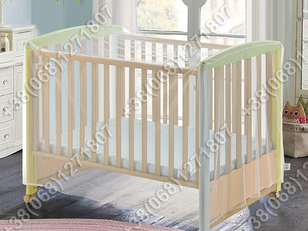 Москитная сетка на детскую кроватку или манеж, фото 2