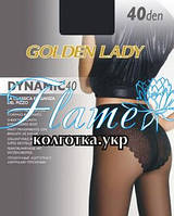 Колготки матовые Golden lady Dynamik 40 den ажурные трусики