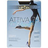 Колготки Omsa Attiva 70 den control top з распределённым давлением