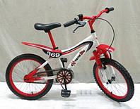 Детский двухколесный велосипед 18 дюймов «Экстрим» 141801-R красный