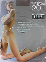Колготки с заниженой талией Lores vita bassa 20den
