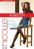 Колготки узор зигзаг полоска Marilyn Nicolle 19