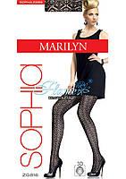 Колготки ажурная вязка Marilyn Sophia ZG 816