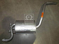 Глушитель заднего MERCEDES W201 (производитель Polmostrow) 13.09