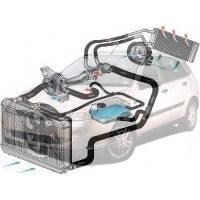 Система охлаждения Ford Focus Форд Фокус 1998-2004