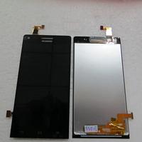 Оригинальный дисплей (модуль) + тачскрин (сенсор) для Huawei Ascend G6-U10 (черный цвет)