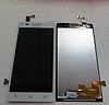 Оригінальний дисплей (модуль) + тачскрін (сенсор) для Huawei Ascend G6-U10 (білий колір)