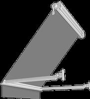 Маркізи балконні з падаючим ліктем Attica з закритим валом