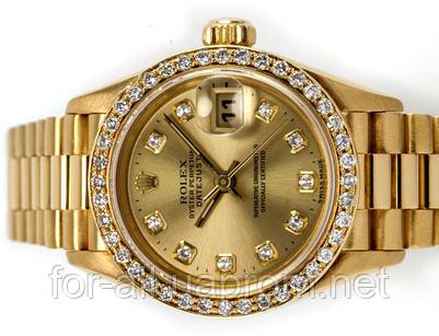 Лучшая копия женских часов Rolex DateJust President Watch Lady