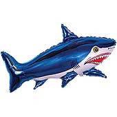 Фольгированный шар 901643 Акула