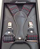 Мужские подтяжки Paolo Udini подарочные, фото 4