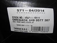 Подкрылок левая TOY RAV4 01-06 (производитель TEMPEST) 049 0577 387