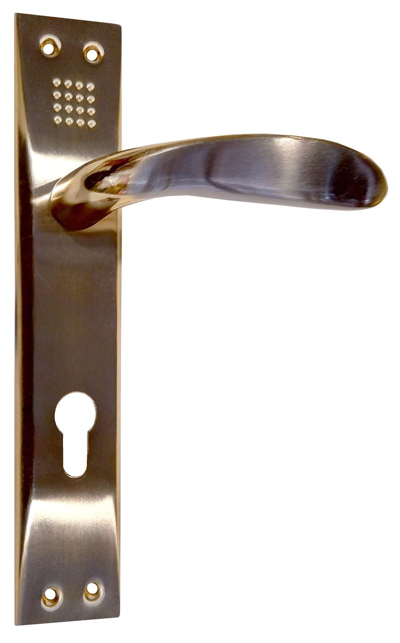 Дверная Ручка на планке MOS 85 mm (392)