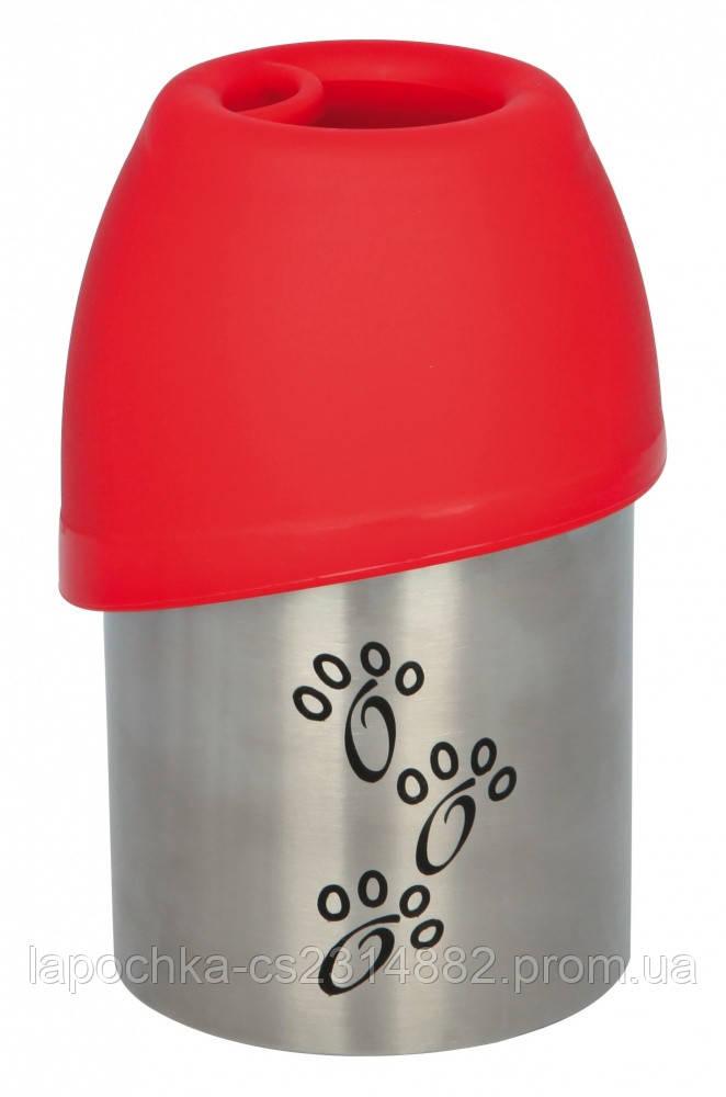 Trixie Бутылка дорожная с миской
