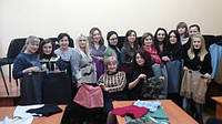 Мы творим и совершенствуемся под руководством Надежды Васильевны.